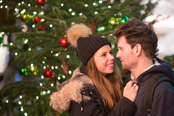 Christmas proposal propose marriage